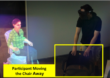 The influence of real human personality on social presence with a virtual human in augmented reality.