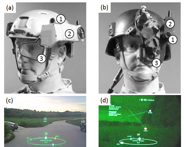 Development of Vision-aided Navigation for a Wearable Outdoor Augmented Reality System