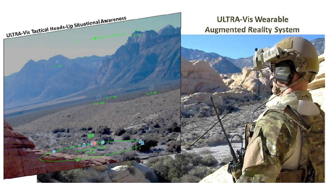 Testing and Evaluation of a Wearable Augmented Reality System for Natural Outdoor Environments