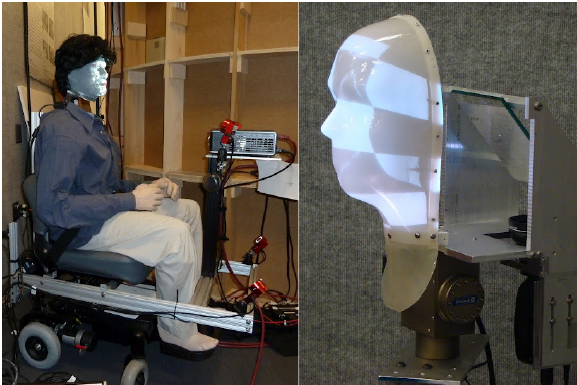 Advances in Shader Lamps Avatars for Telepresence