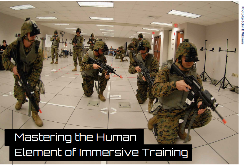 Mastering the Human Element of Immersive Training