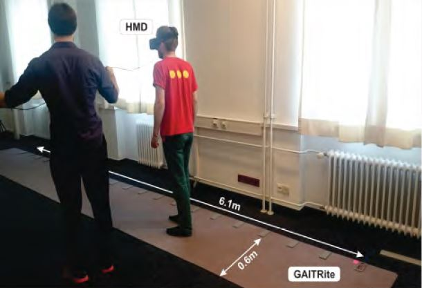 Walking in Virtual Reality: Effects of Manipulated Visual Self-Motion on Walking Biomechanics