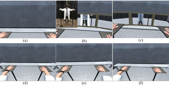 Pilot Study: The Effect of Real User Body Cues to The Perception on Virtual Body