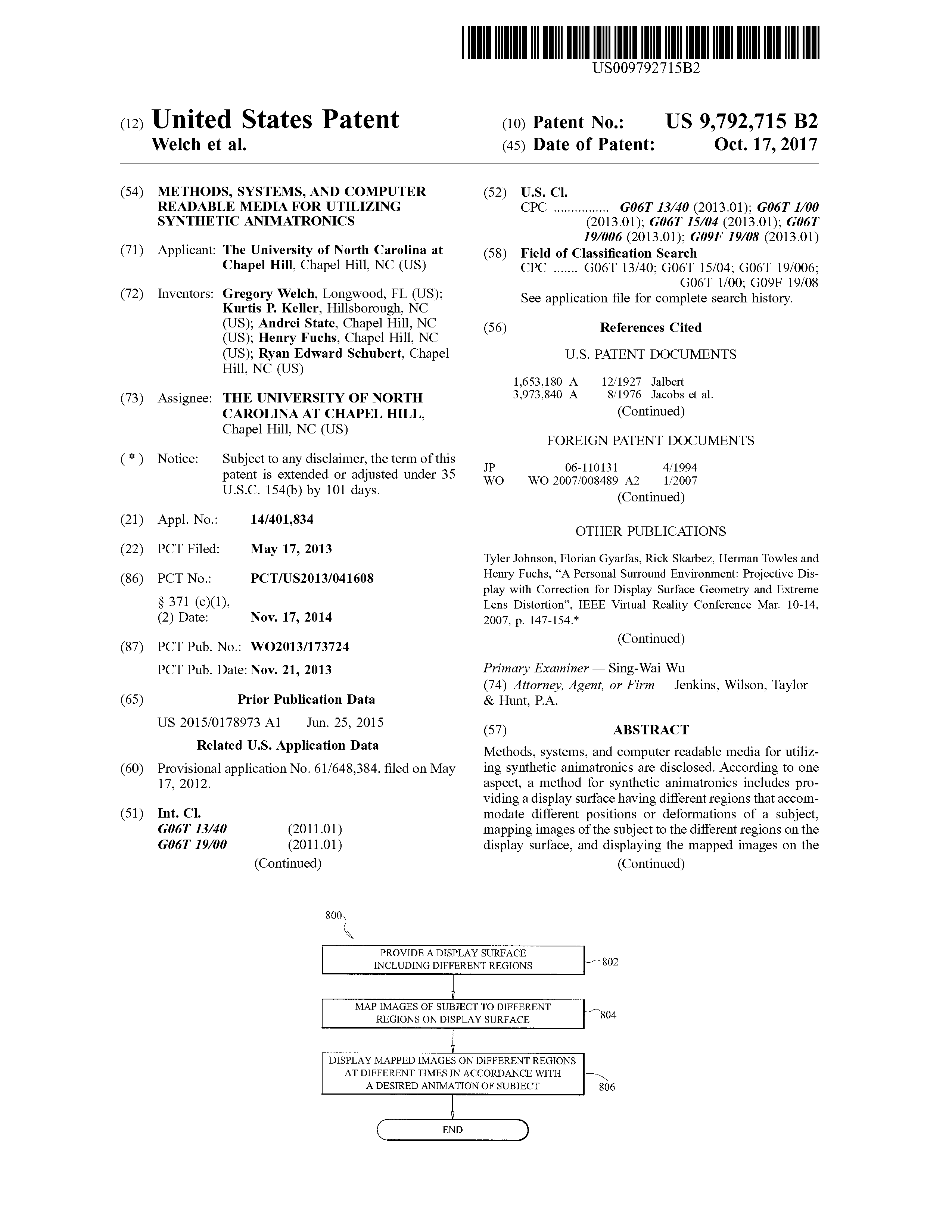 Methods, systems, and computer readable media for utilizing synthetic animatronics