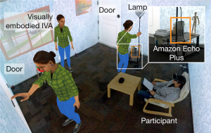 [POSTER] Seeing is Believing: Improving the Perceived Trust in Visually Embodied Alexa in Augmented Reality