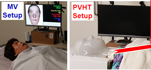 [POSTER] Preliminary Assessment of Neurologic Symptomatology Using an Interactive Physical‐Virtual Head with Touch