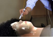Physical-Virtual Agents for Healthcare Simulation