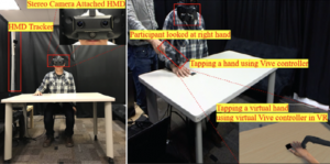 In Limbo: The Effect of Gradual Visual Transition between Real and Virtual on Virtual Body Ownership Illusion and Presence