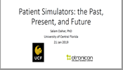 Patient Simulators: the Past, Present, and Future
