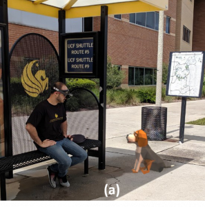 Investigating Augmented Reality Animals as Companions