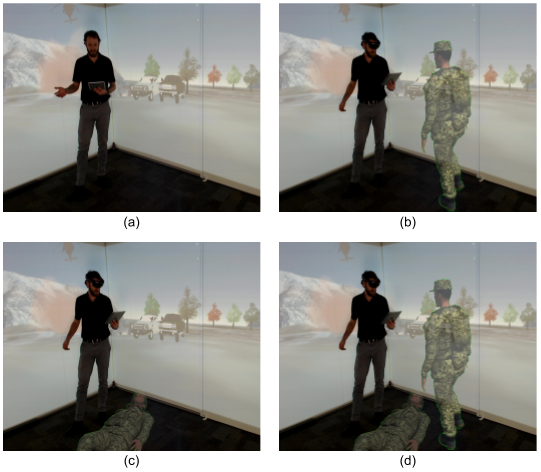 Mixed Reality Technology Capabilities for Combat-Casualty Handoff Training