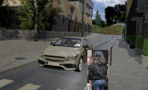 Autonomous Vehicle Visual Embodiment for Pedestrian Interactions in Crossing Scenarios: Virtual Drivers in AVs for Pedestrian Crossing