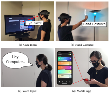 Trade-offs in Augmented Reality User Interfaces for Controlling a Smart Environment